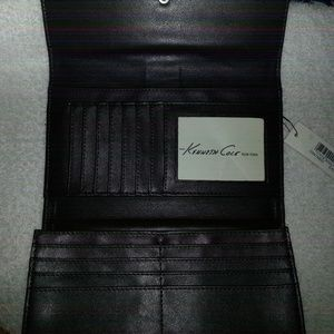 Kenneth Cole Bags - brown leather wallet